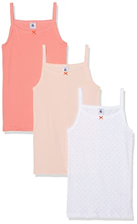 Petit Bateau Girls 36790 Short Sleeve Vest