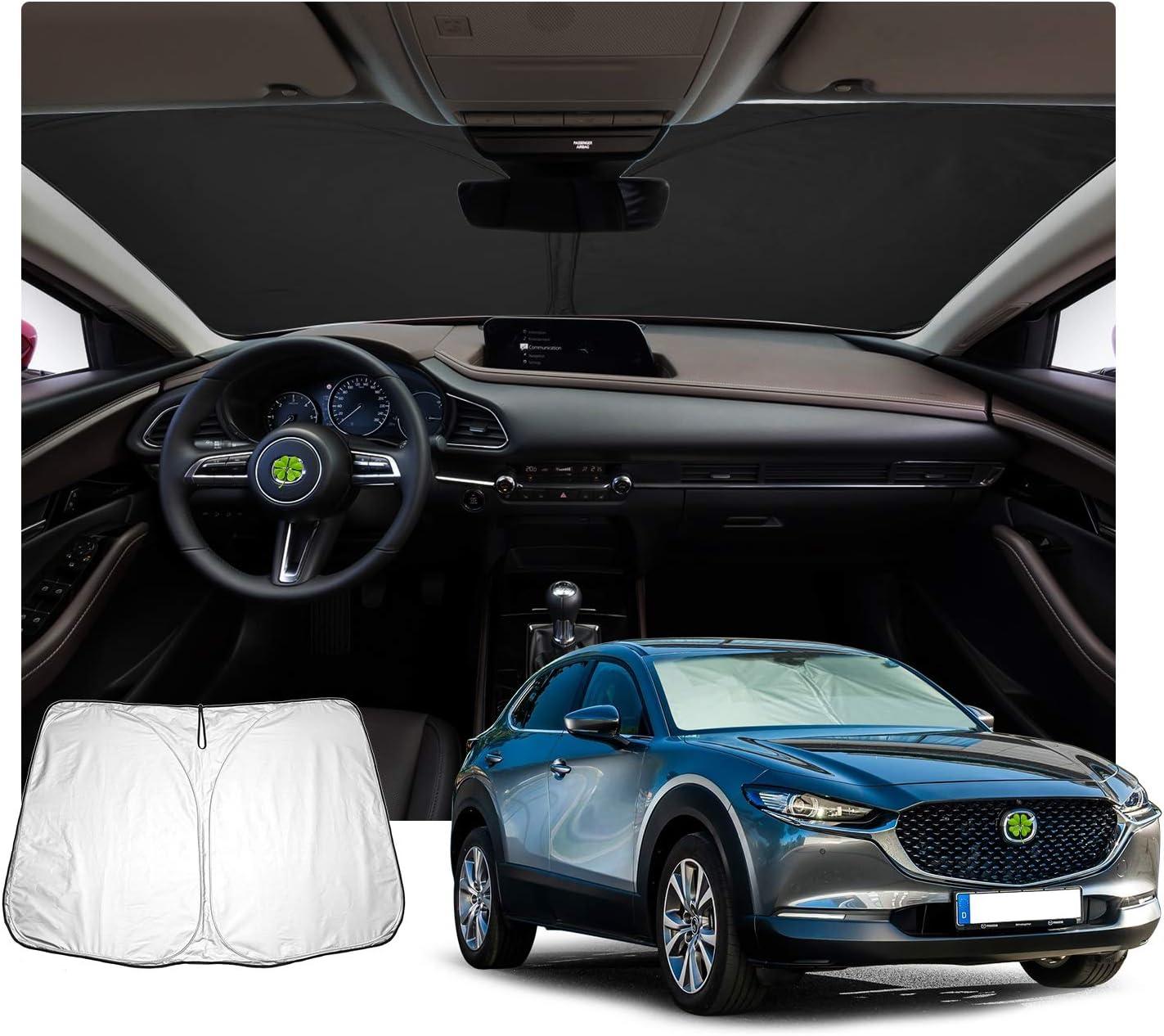 transparente 150 /μm Lackschutzshop L/ámina protectora de pintura compatible con Mazda CX30 // CX-30