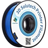 3D Solutech Real Blue 3D Printer PLA Filament 1.75MM Filament, Dimensional Accuracy +/- 0.03 mm, 2.2 LBS (1.0KG…