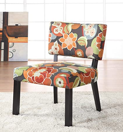 Attrayant Powell Bright Floral Print Accent Chair