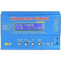 B6 80W balanslader, Jectse B6 80W digitale LCD-balanslader ontlader RC-lader NiMH-batterijlader, Geschikt voor parallel…