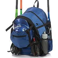 Athletico Advantage Baseball Bag - Baseball Backpack with External Helmet Holder for Baseball, T-Ball & Softball…