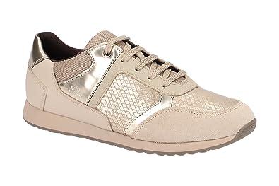 5bb5211a3 Geox D846FC 004AU C6029, Chaussures à Lacets et Coupe Classique ...