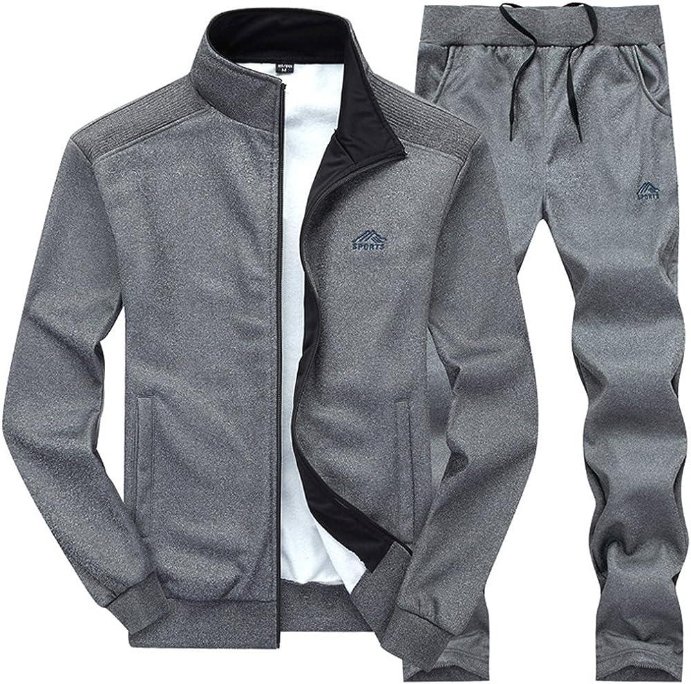 Max 46% OFF Gopune Men's Athletic Tracksuit Full Zip Warm Suit Sweat Jogging security