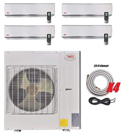 Amazon.com: YMGI 60000 BTU 4 Zone - Aire acondicionado sin ...