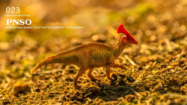 PNSO Prehistoric Animal Toys 038 Pachyrhinosaurus Alger