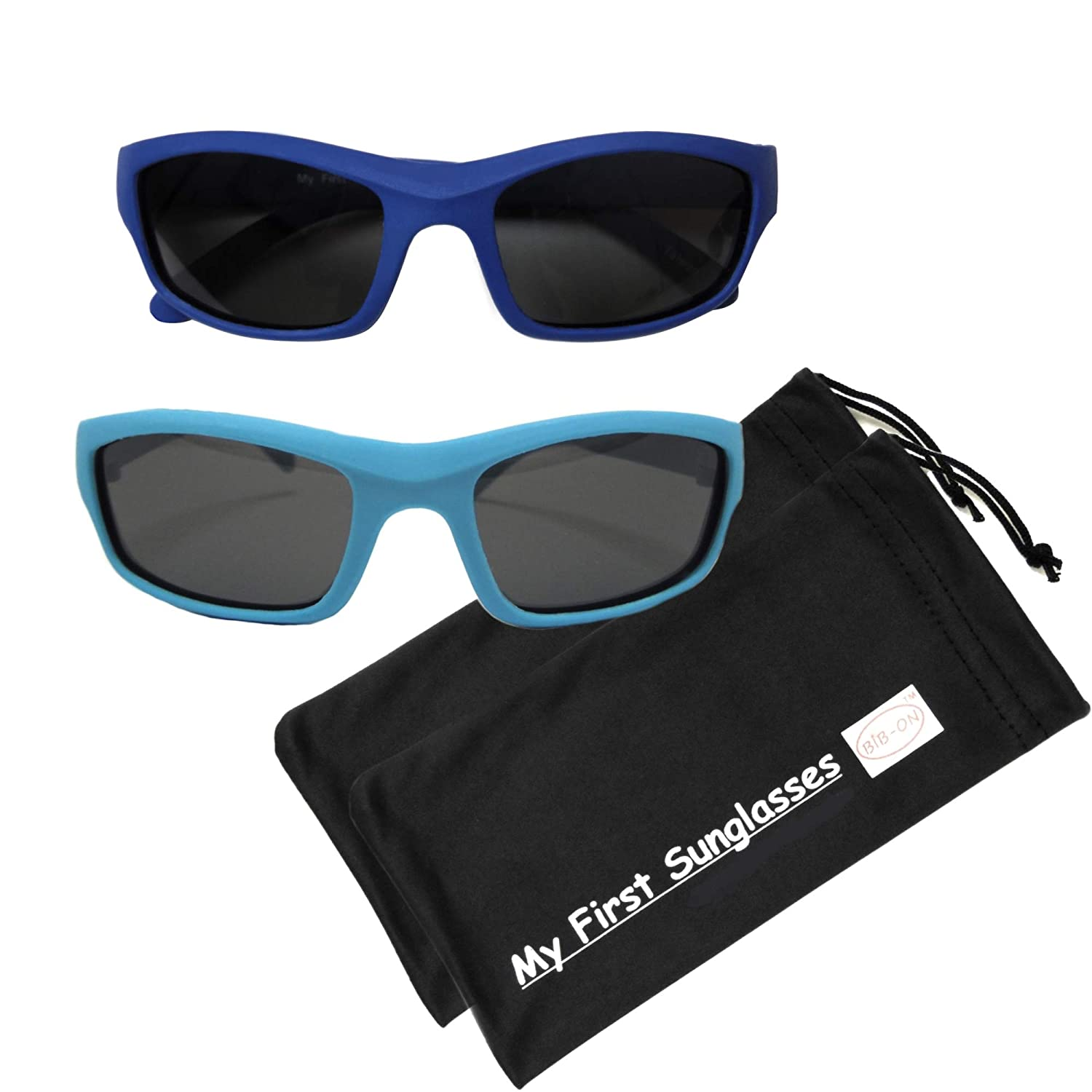 and Kids Toddler Many Colors and Sizes! 100/% UV Protection Sporty Shades- Best First Sunglasses for Baby