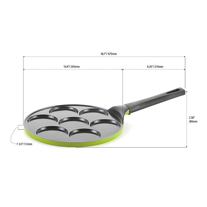 Pancake Pan - 10 inch Ceramic Nonstick in Avocado Green