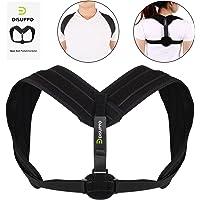 Disuppo Back Posture Corrector for Men Women Upper Back Shoulder Clavicle Support
