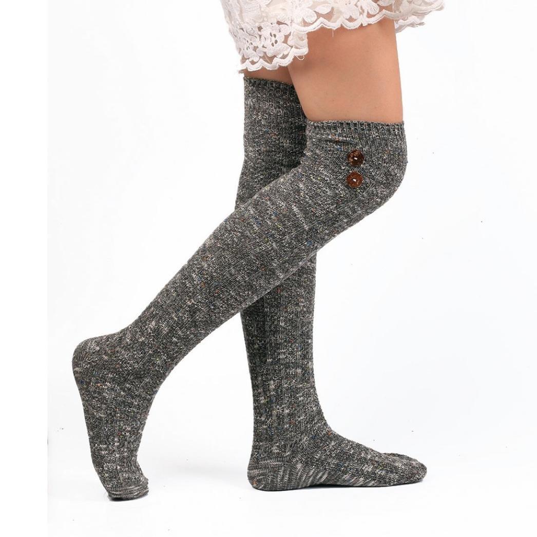 Matoen(TM) Women Long Socks Over Knee High Cotton Sock winter socks pantyhose WG1115