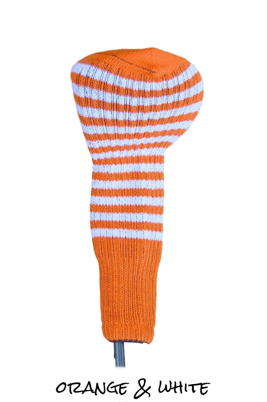 オレンジClubソックスゴルフヘッドカバー3 B075KQ25NH オレンジ&ホワイト オレンジ&ホワイト