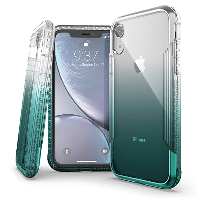 lowest price c7476 9fd96 X-Doria Defense Air Series, iPhone XR Case - Military Grade Drop Tested,  Anodized Aluminum, TPU, and Polycarbonate Protective Case for Apple iPhone  ...