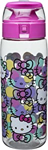 Zak Designs HLOC-K952 Sanrio Water Bottles, Tritan, Hello Kitty
