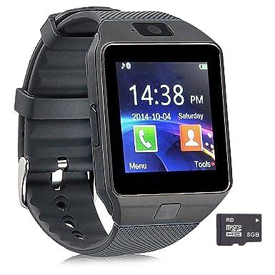 Reloj inteligente Pandaoo DZ09 con Bluetooth y cámara para Samsung, HTC, Sony y otros