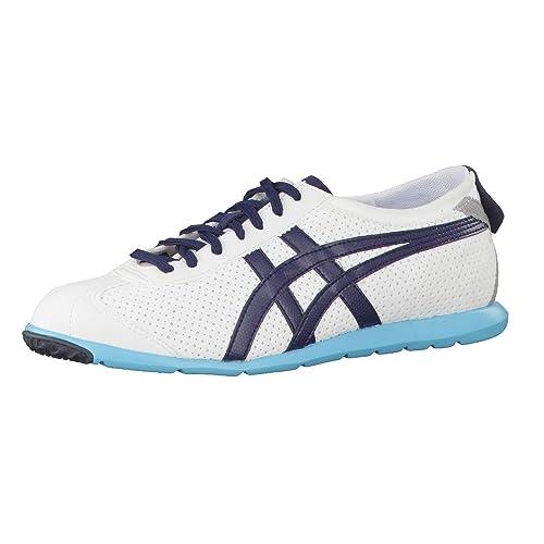 8d66f4116734 Onitsuka Tiger Rio Runner Sneaker White   Navy  Amazon.co.uk  Shoes ...