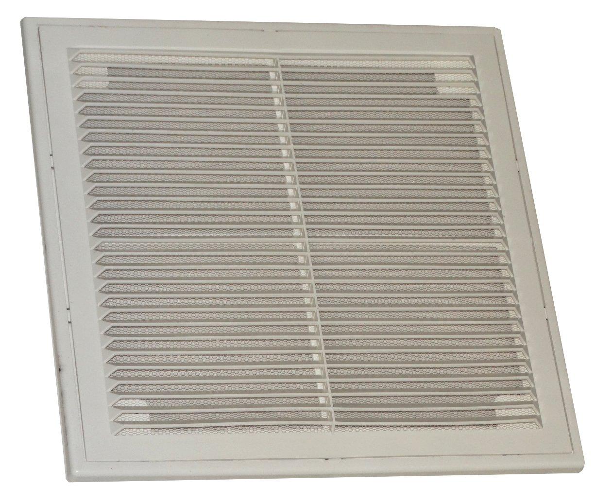 AERZETIX: Plastic, Square Air Ventilation Grille 300mm x 300mm. 3800946199281