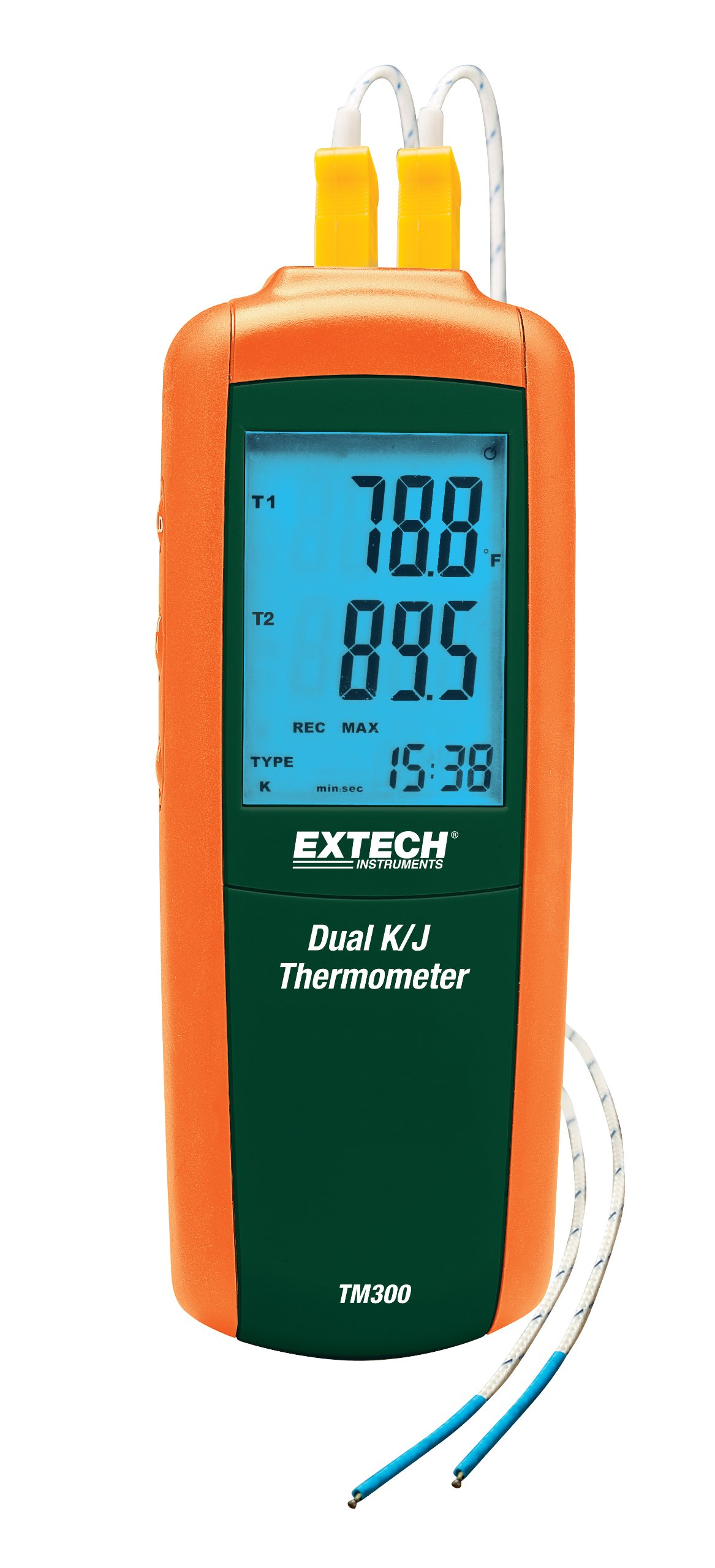 Extech TM300 Dual Type K/J Input Thermometer