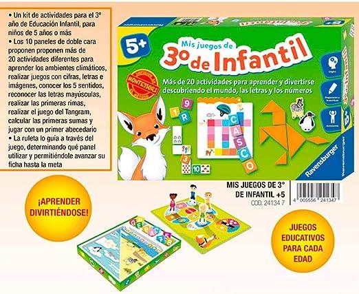 Ravensburger-24134 7 Mis Juegos de 3° Infantil, Multicolor (24134): Amazon.es: Juguetes y juegos