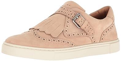 FRYE Women's Gemma Kiltie Fashion Sneaker, Blush, ...