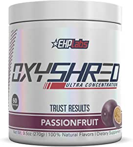 OxyShred by EHPlabs - The World's #1 Fat Burner Thermogenic (Passionfruit)