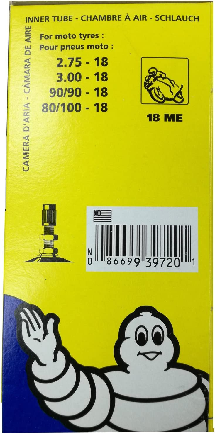 2.75-21 Camera daria moto Michelin 21 Trial Valve TR4