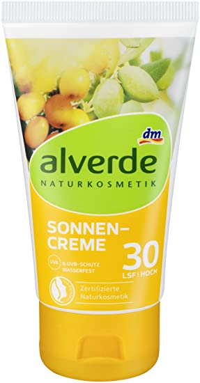 Alverde 30 co Cream 75 Spf MlAmazon Sun uk Natural Cosmetics Vegan lF5TJc31uK