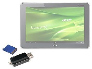 DURAGADGET Lector De Tarjetas ¡2 En 1! para Tablet Acer ...