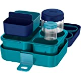 Thermos Kids Freestyle Navy Food Storage System, 8-piece set