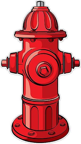 amazon com fire hydrant wall decal kids childrens room peel stick