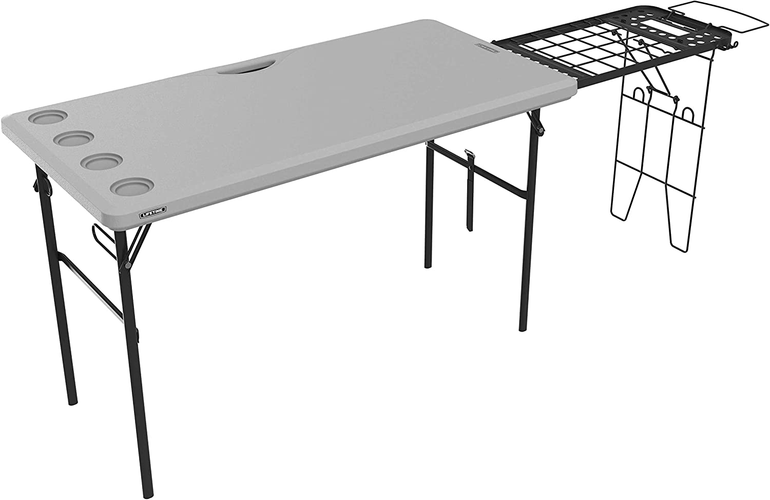 LIFETIME 280813 Folding Tailgate Camp Table