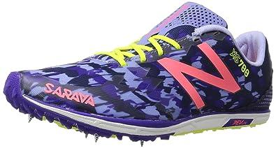 Balance Womens 700v4 Track Spike Running Shoe Purple/Pink 6.5 B US
