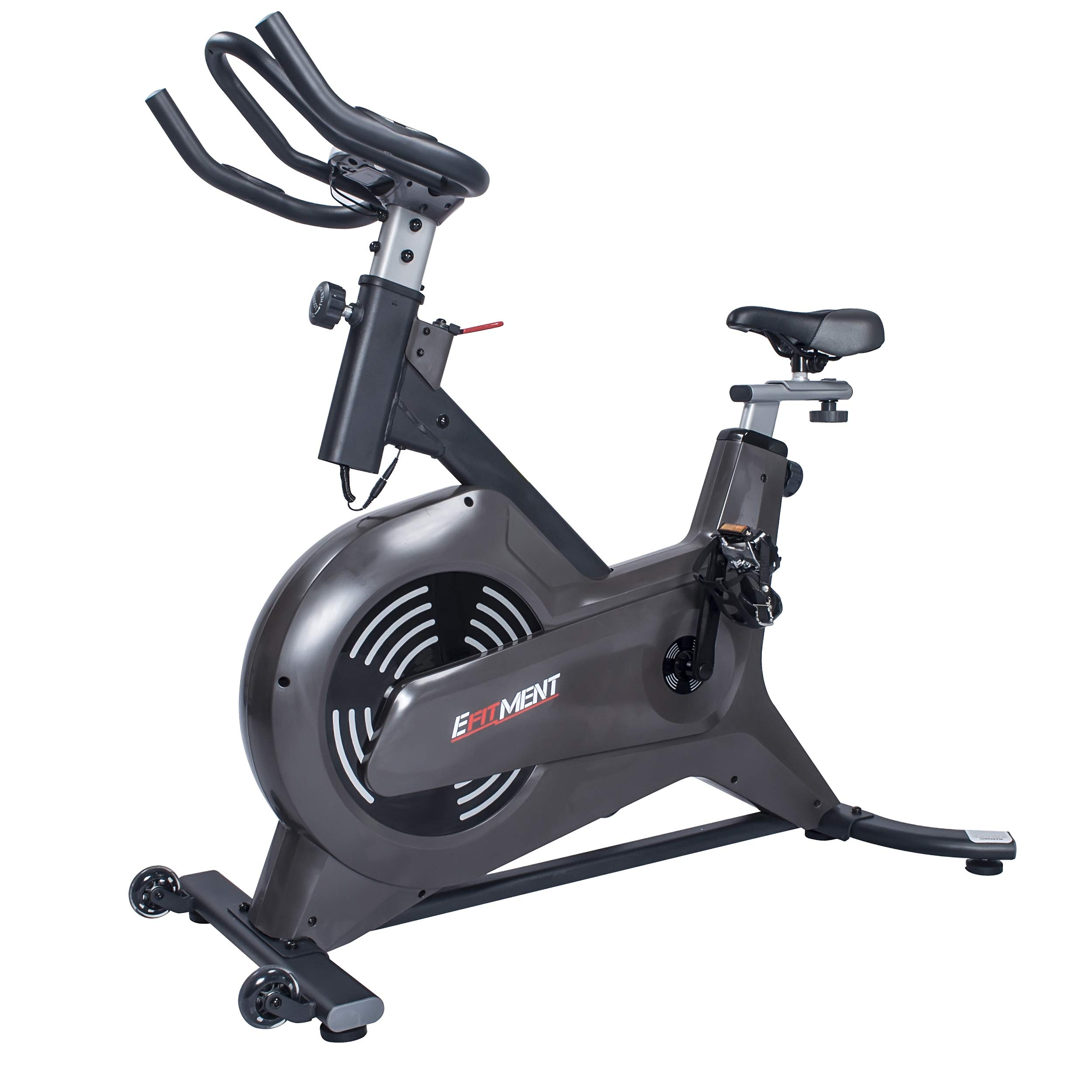 EFITMENT Swift Magnetic Indoor Cycle Bike w/Monitor - IC035