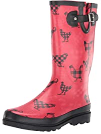 b5a82fd207bd Western Chief Women s Printed Tall Rain Boot