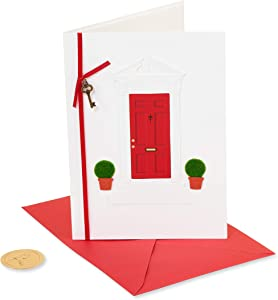 Papyrus New Home Congratulations Card (Red Door )