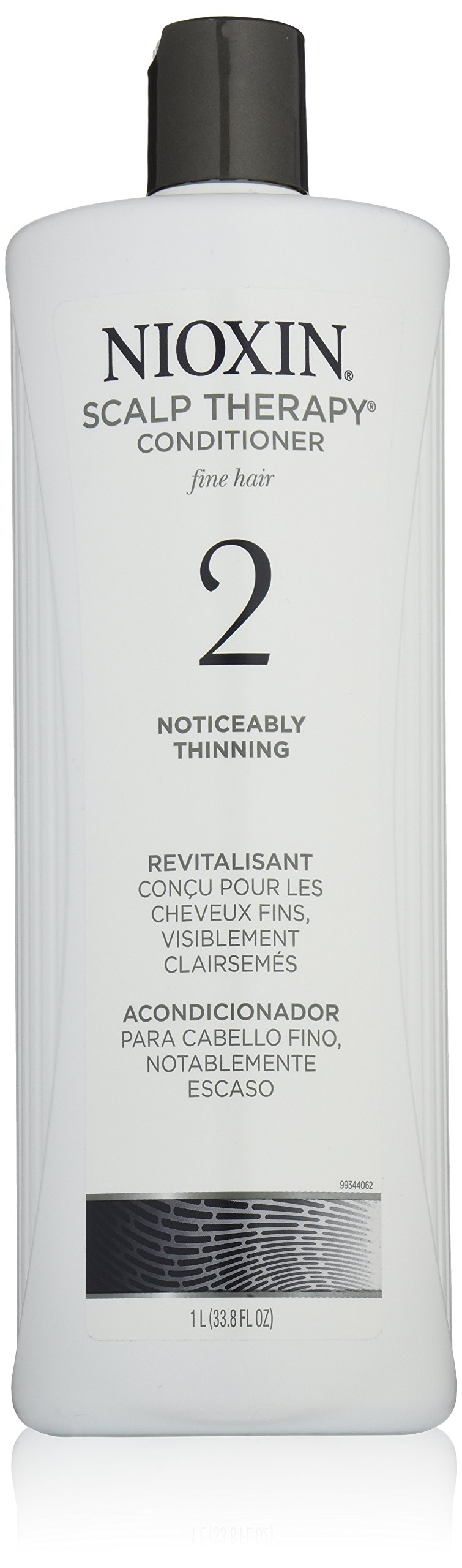 Nioxin Scalp Therapy, System 2 (Noticeably Thinning) Conditioner, 33.8 Ounce by Nioxin