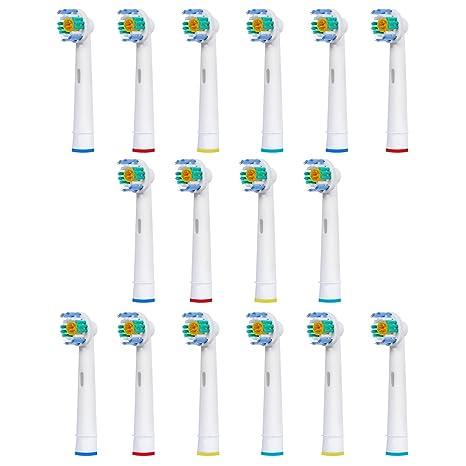 16 uds (4x4) de cabezales para cepillos de dientes E-Cron®.