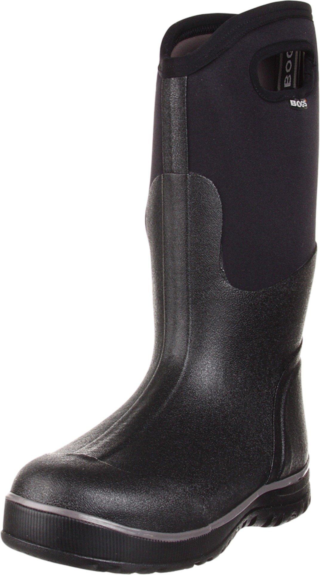 Bogs Men's Ultra High Insulated Waterproof Winter Boots - 11 D(M) US - Black