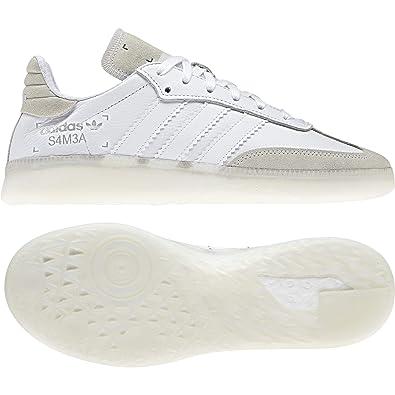 Adidas Samba RM White White Grey: : Schuhe