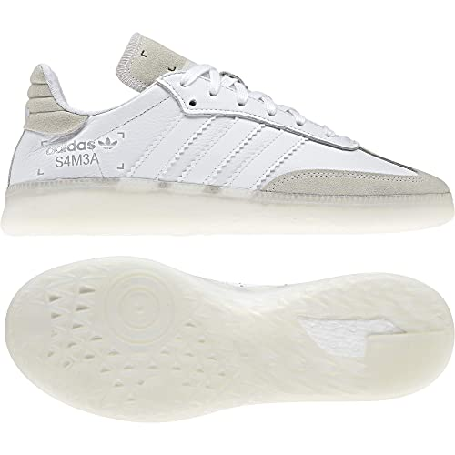 Adidas Samba RM White White Grey 42: Amazon.it: Scarpe e borse