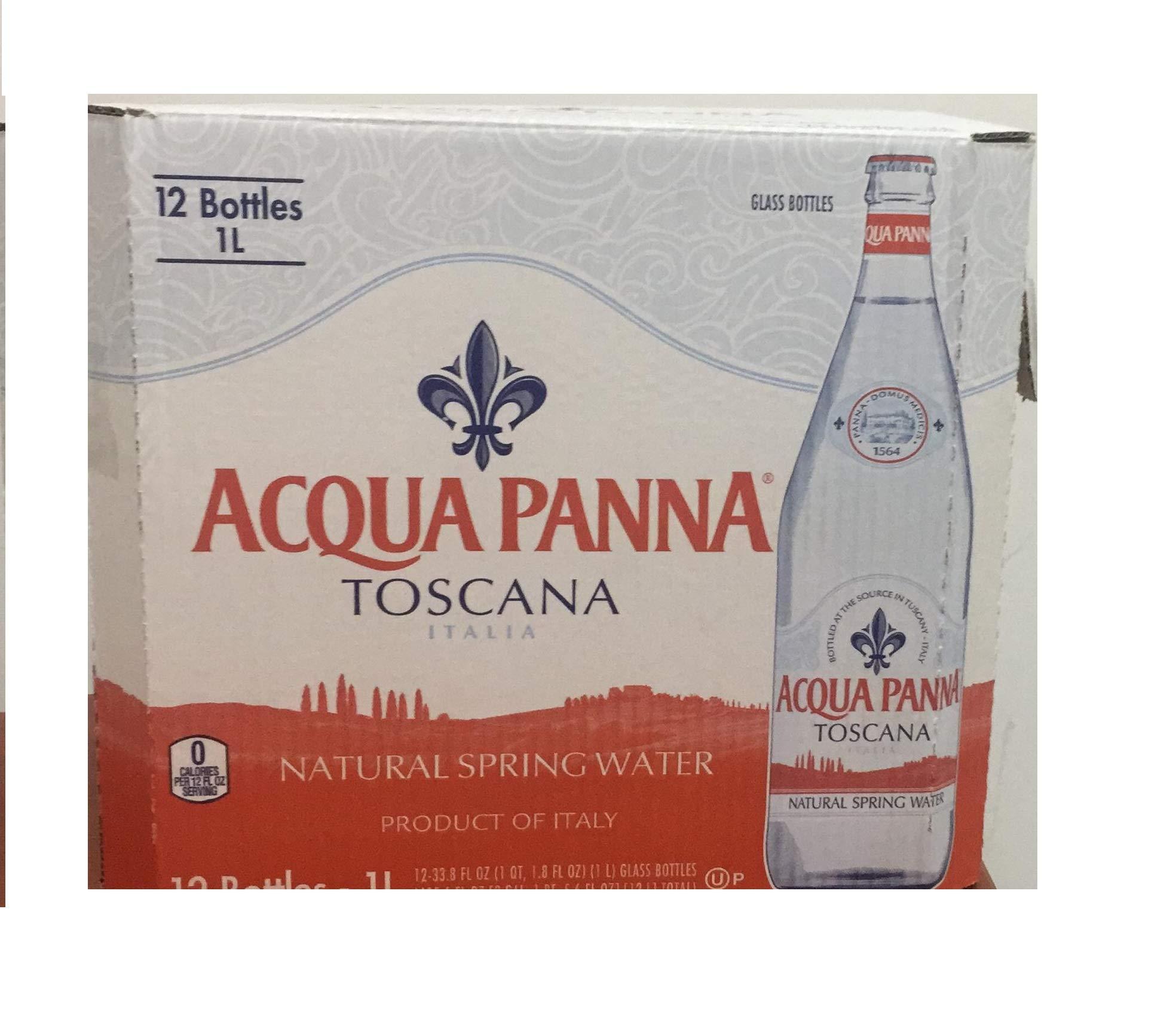 Acqua Panna Spring Water, 1 Liter, 33.8 Ounce