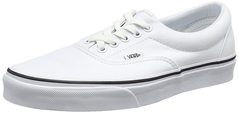 Vans Unisex Era Skate Shoe True White 5 D(M) US