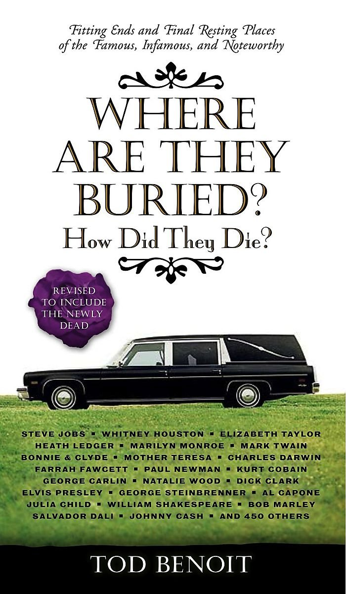 Download Where Are They Buried?: How Did They Die? Fitting Ends and Final Resting Places of the Famous, Infamous, and Noteworthy pdf