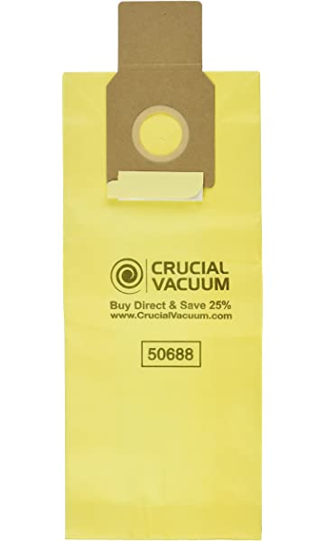Crucial Vacuum Allergen Filtration Cleaner Bags Replacement Parts Compatible With Kenmore Parts # 20-5068