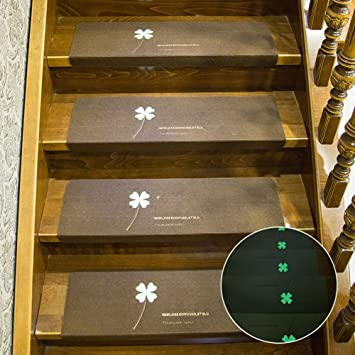 Leuchtende Stufenmatten Treppenstufen Matten Rutschfest