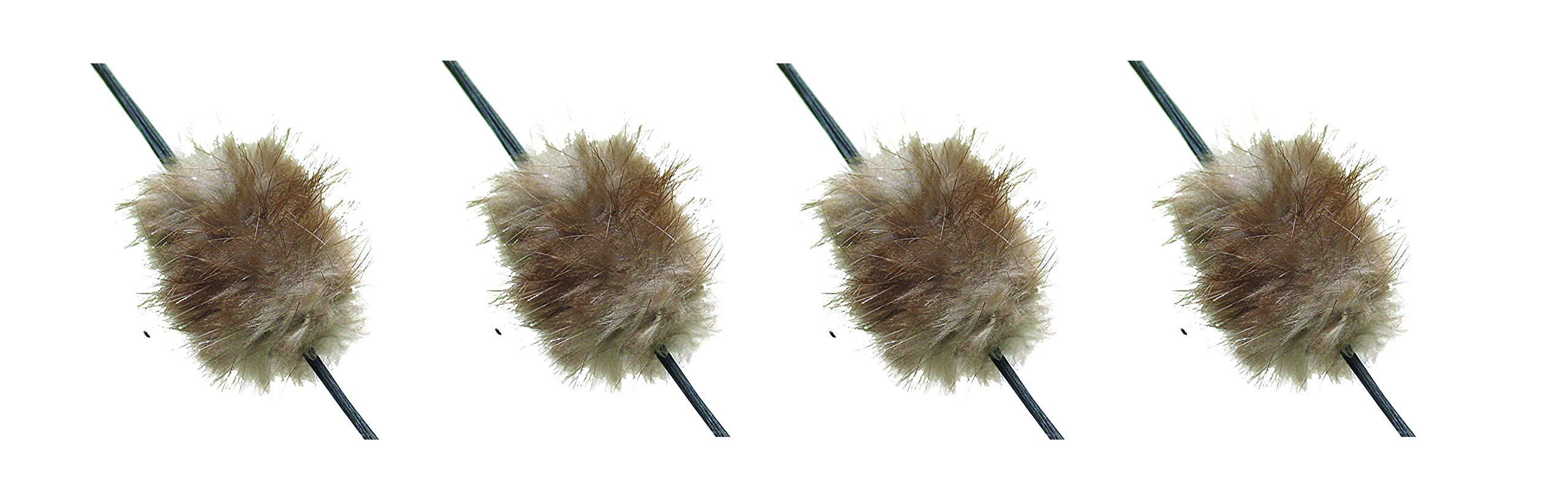 Mountain Man Beaver Balls String Silencer (4-(Pack))