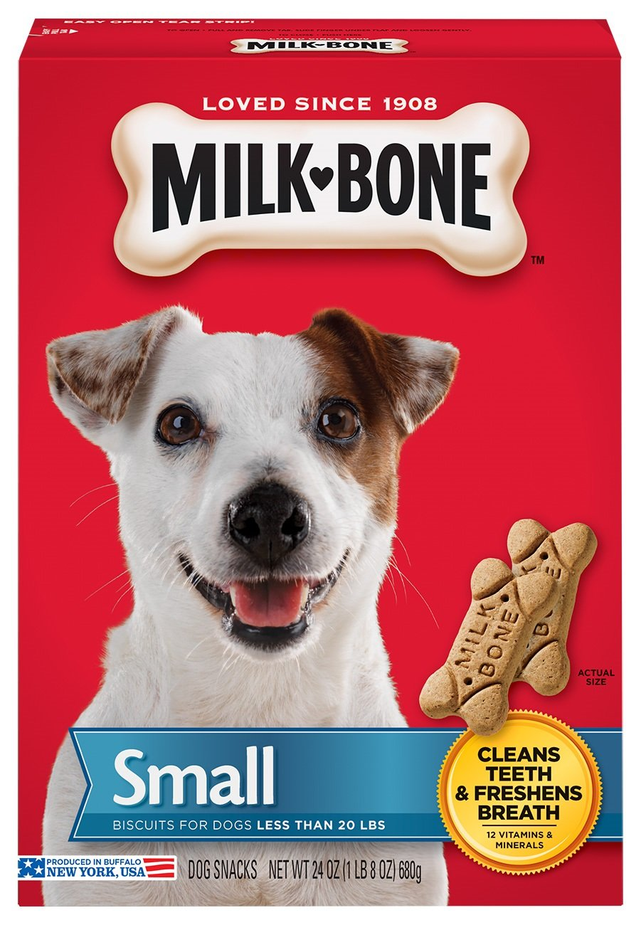 Milk-Bone Original Dog Treats for Small Dogs, 24 Ounce