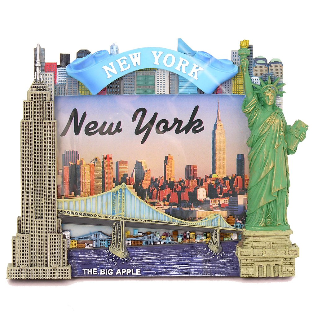 Amazon.com - New York City Picture Frame for 4x6 Photos from NYC ...