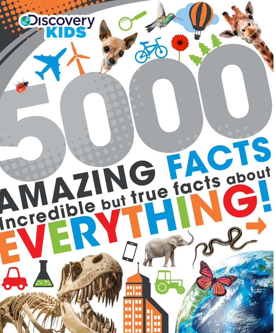 5000 Amazing Facts Discovery Kids product image