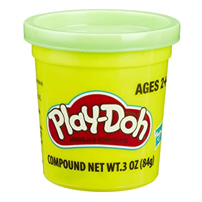 Play-Doh Green (4 Pack) 3 Ounce Cans: Toys & Games