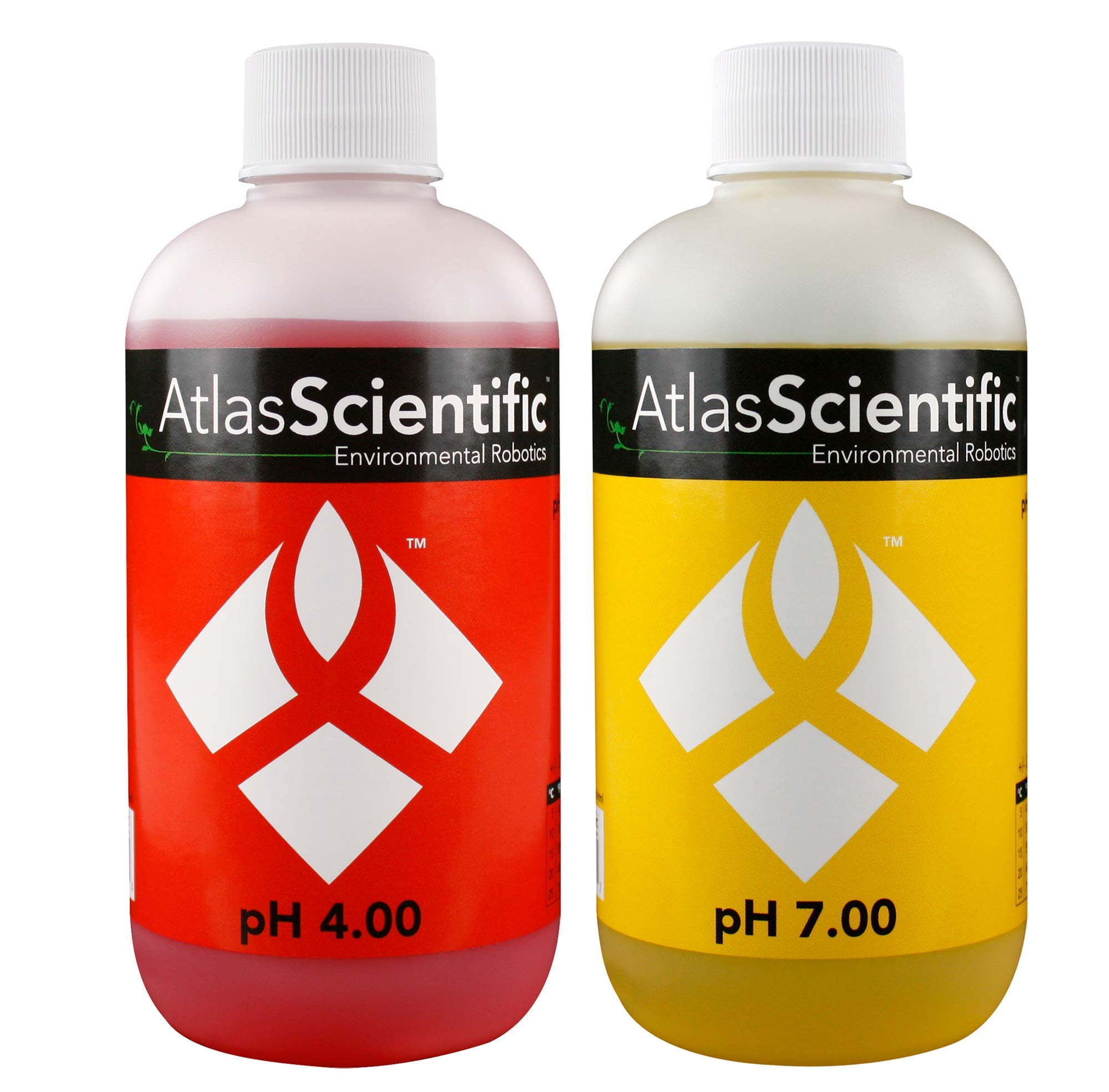 Atlas Scientific pH Calibration Solution 4.00 & 7.00 8oz - 250ml (Pack of 2)